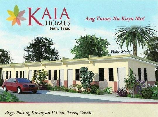 kaia homes gen. trias cavite