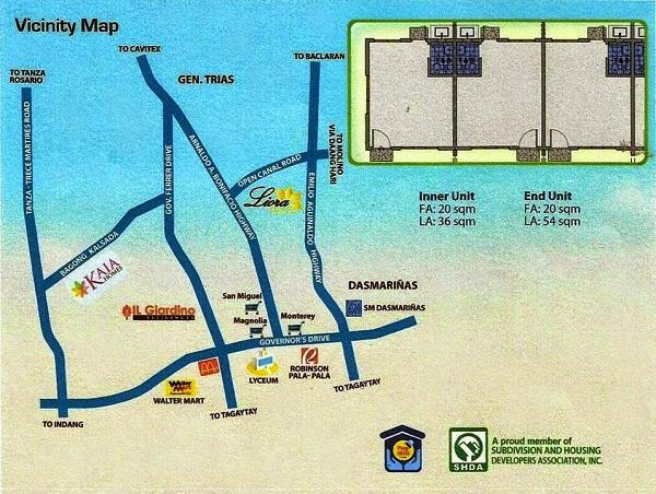 kaia homes vicinity map